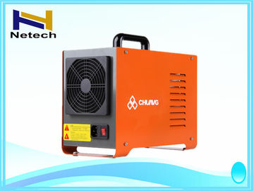 Orange Colour Commercial Ozone Generator For Hotel / Restaurant / Hospital